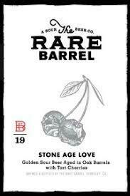 The Rare Barrel Stone Age Love - American Wild Ale (SINGLE)