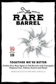 The Rare Barrel Together we're better - American Wild Ale (1/6 BBL KEG)