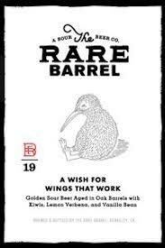 The Rare Barrel Wish for Wings That Work - Sour/Fruited (SINGLE)