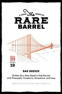 The Rare Barrel Bae Breeze - Sour/Fruited (SINGLE)