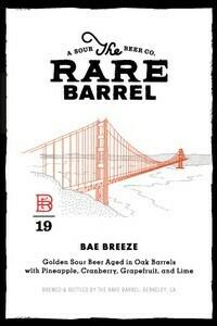 The Rare Barrel Bae Breeze - Sour/Fruited (SINGLE)