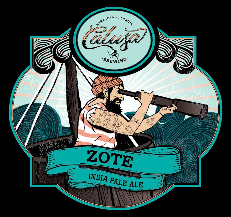 Calusa Brewing Zote New England Hazy IPA (32OZ GROWLER)