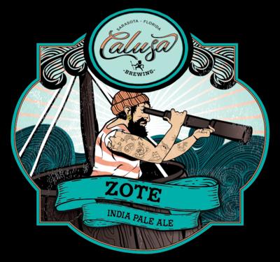 Calusa Brewing Zote New England Hazy IPA (32OZ CROWLER)