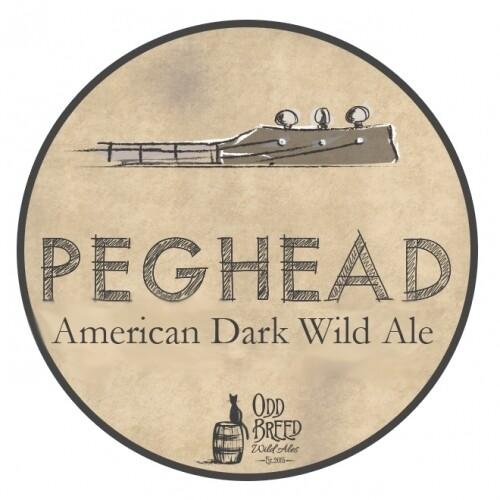 Bangin Banjo Brewing BA Peghead American Dark Wild Ale (2020)(SINGLE MAGNUM)