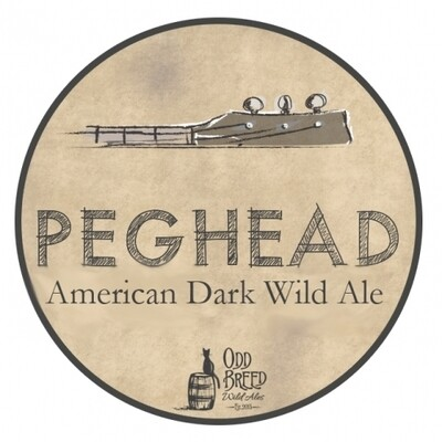 Bangin Banjo Brewing BA Peghead American Dark Wild Ale (2020)(SINGLE)