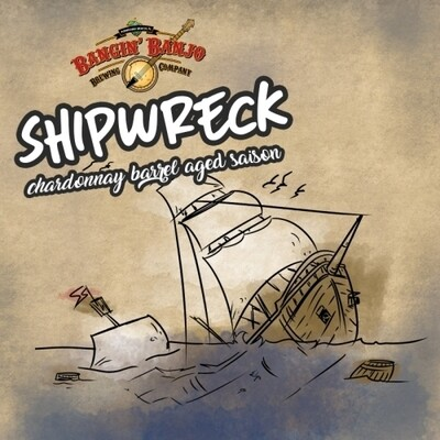 Bangin Banjo Brewing BA Shipwreck Saison Imperial Milk Stout (2020)(SINGLE)