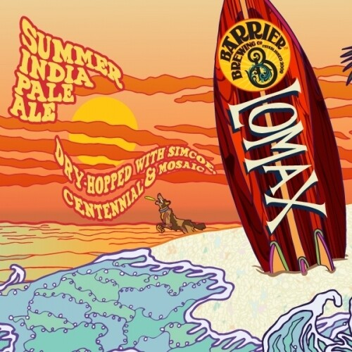 Barrier Brewing Lomax American IPA (4-PACK)