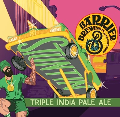 Barrier Brewing Stuntin Triple IPA (4-PACK)