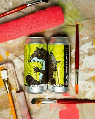 Tripping Animals Brewing Bandido Triple Dry Hopped IPA (4-PACK)