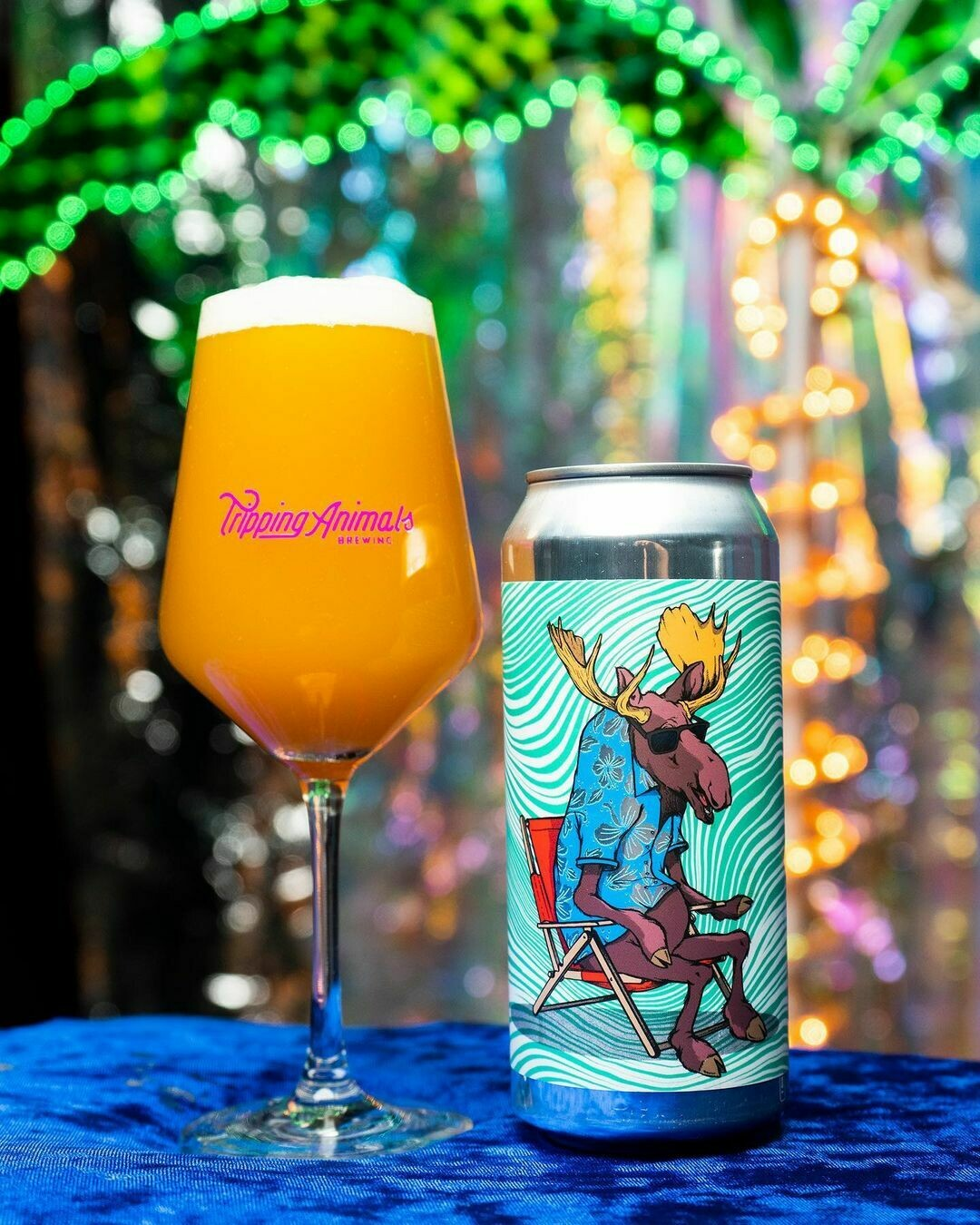 Tripping Animals Brewing On The Loose Double IPA (SINGLE)