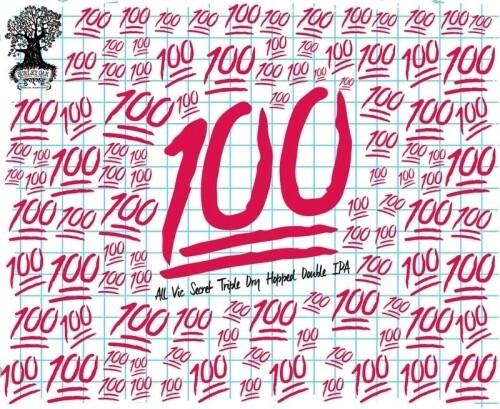 Burley Oak Brewing Company 100 (TDH W/ Vic Secret) (SINGLE)