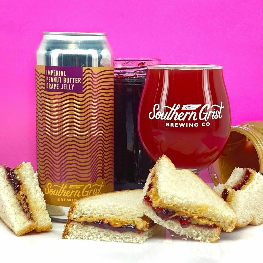 Southern Grist Imperial Peanut Butter & Grape Jelly Hill Sour Ale (4-PACK)
