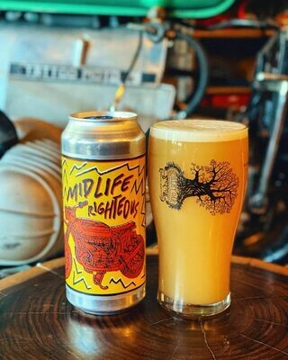 Burley Oak Brewing Company Mid Life Righteous Triple IPA (4-PACK)