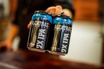 Alcatraz Brewing 2X IIPA (4-PACK)