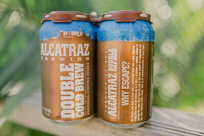Alcatraz Brewing Double Cold Brew Coffee Stout (6-PACK)