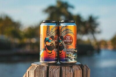 26 Degree Brewing Captain Ron Wheat Ale (4-PACK)