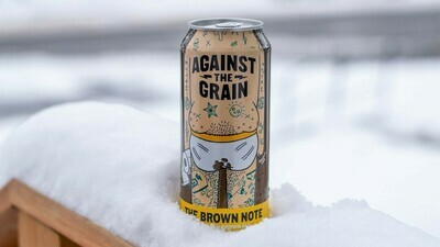 Against The Grain The Brown Note Brown Ale (4-PACK)
