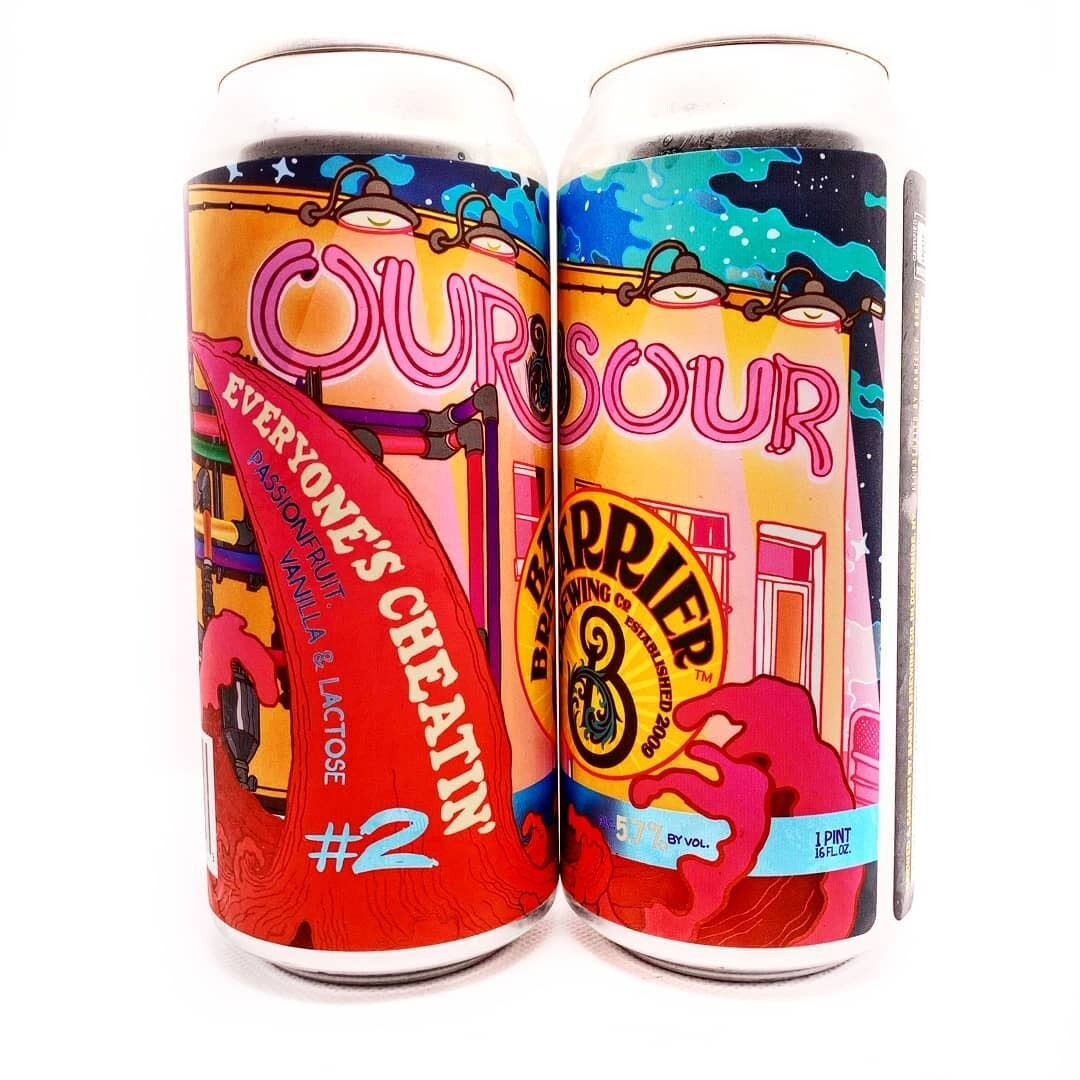 Barrier Brewing Our Sour #2 Everyone's Cheatin (4-PACK)