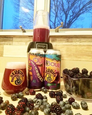 Barrier Brewing - Our Sour #1 Bois & Berries (4-PACK)