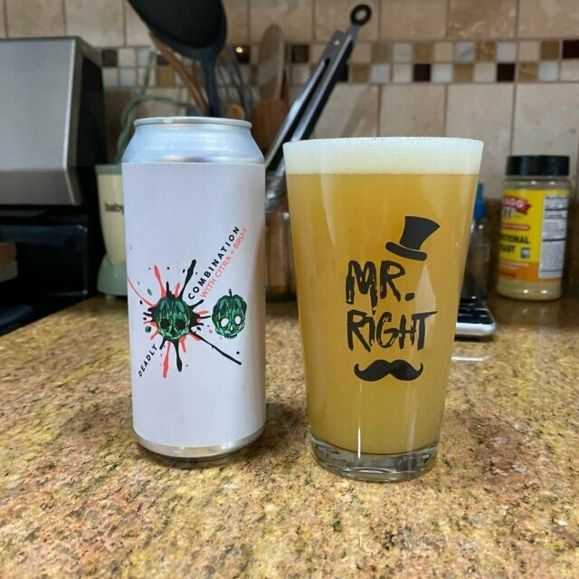Barrier Brewing - Deadly Comb NE IPA (Citra/Bru-1) (4-PACK)