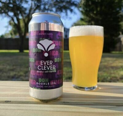 Bearded Iris Ever Clever DDH DIPA (4-PACK)