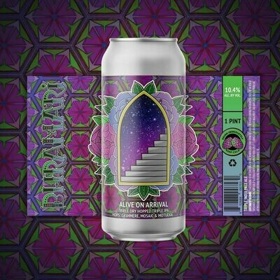 Bhramari Brewing - Alive On Arrival Hazy Triple IPA (4-PACK)
