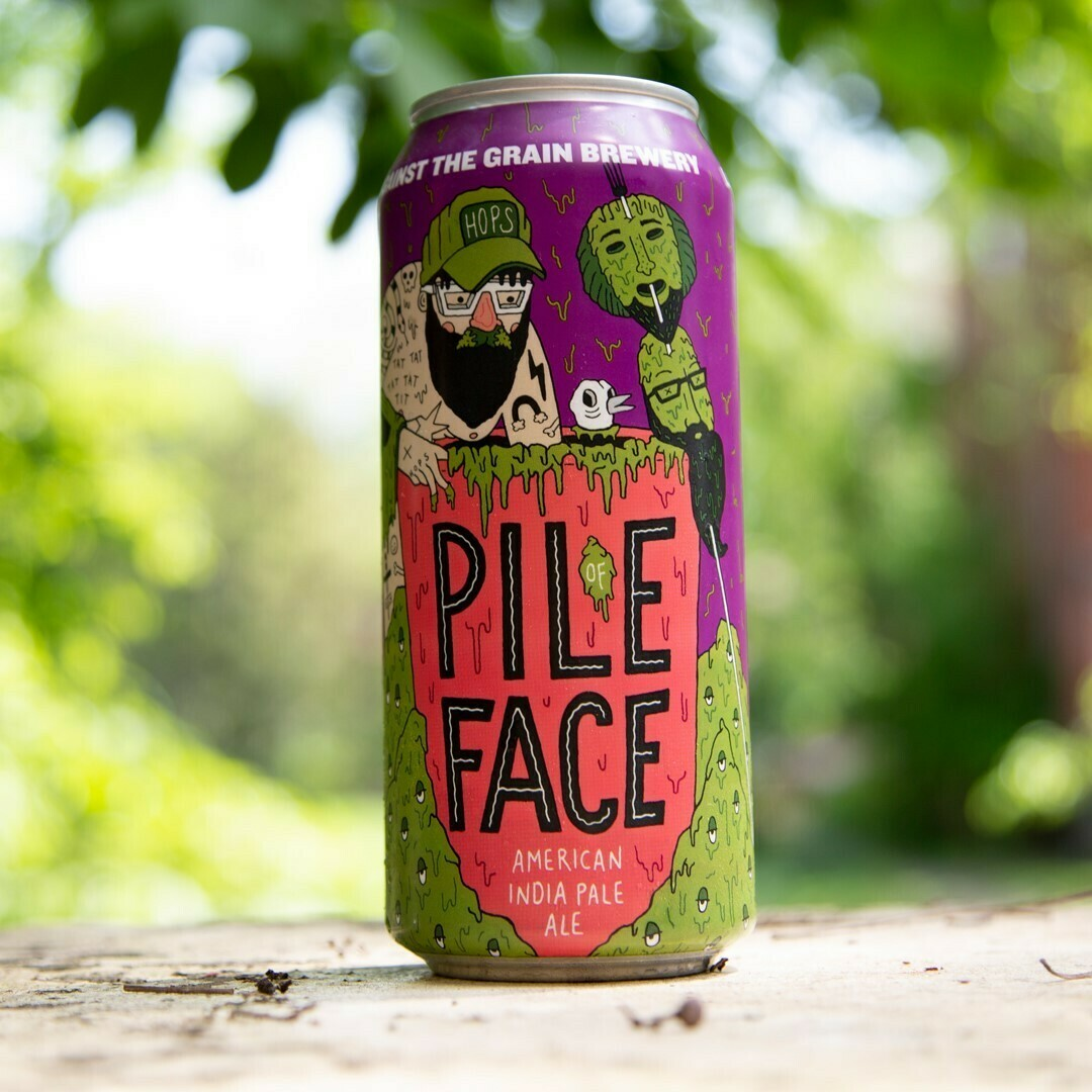 Against The Grain Pile Of Face American IPA (4-PACK)