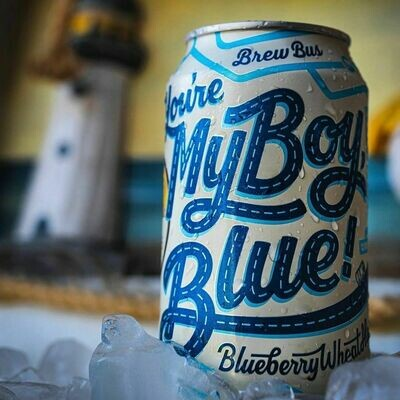 Brew Bus Brewing:You're My Boy Blue (4-PACK)