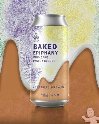 Cerebral Baked Epiphany King Cake Blonde Ale (4-PACK)