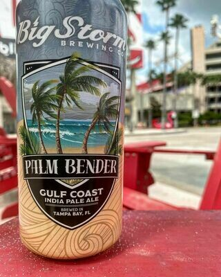 Big Storm Brewing - Palm Bender Gulf Coast Ipa (4-PACK)