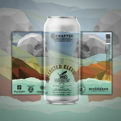 Bhramari Brewing - Crafted: Collected Elevation DDH DIPA (4-PACK)