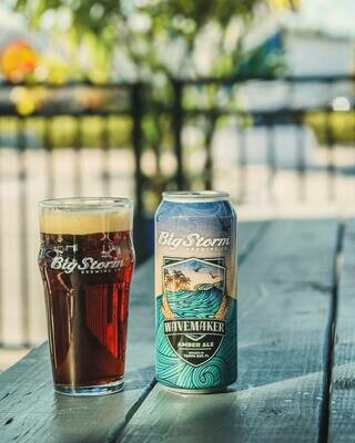Big Storm Brewing - Wavemaker Amber Ale  (4-PACK)