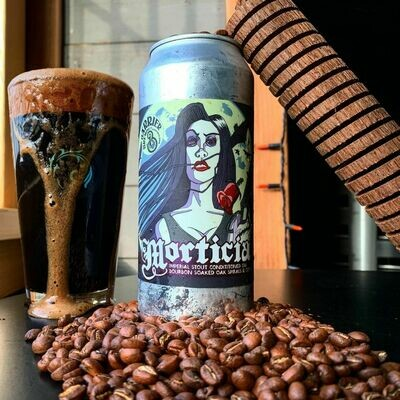 Barrier Brewing - Morticia Imp Stout - Horchata (4-PACK)