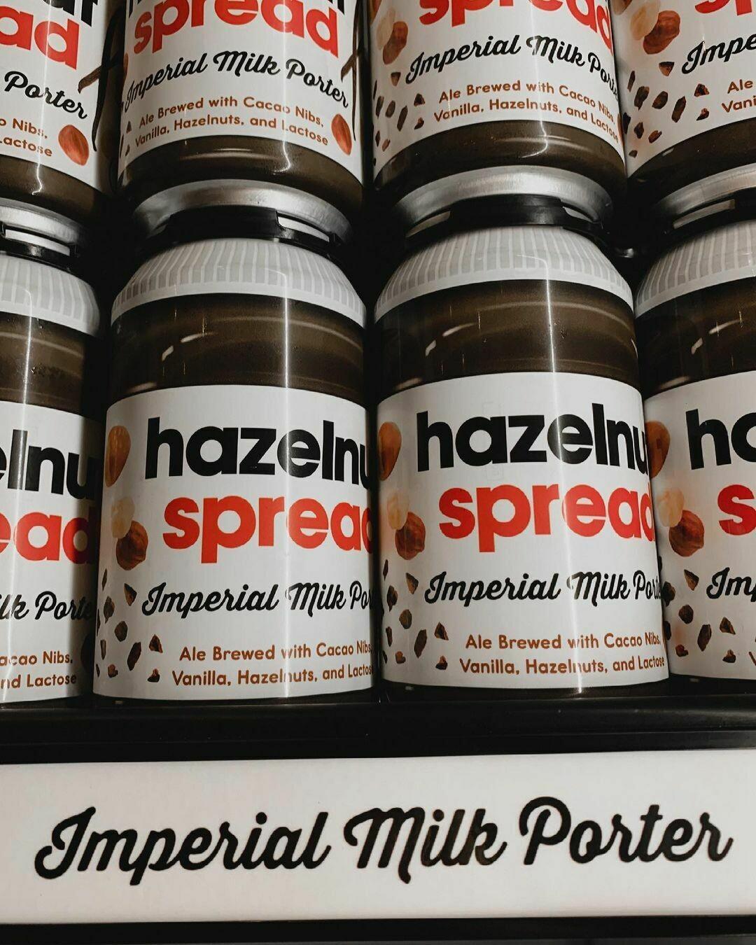 Brew Bus Brewing Hazelnut Spread (4-PACK)