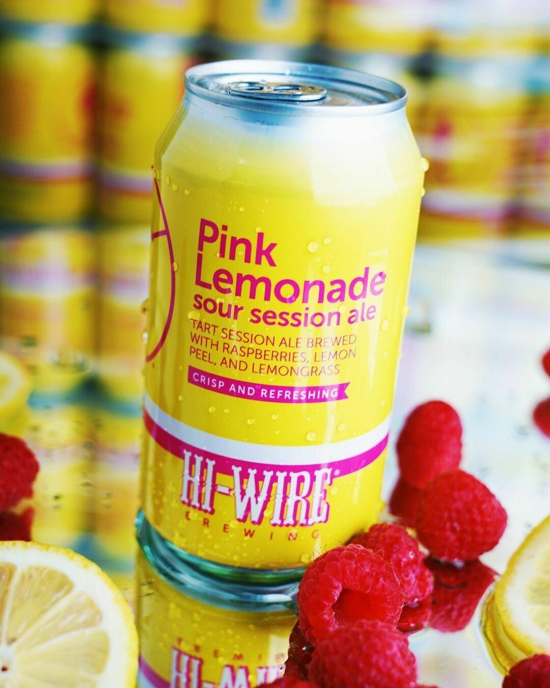 Hi Wire Pink Lemonade Sour Ale (6-PACK)