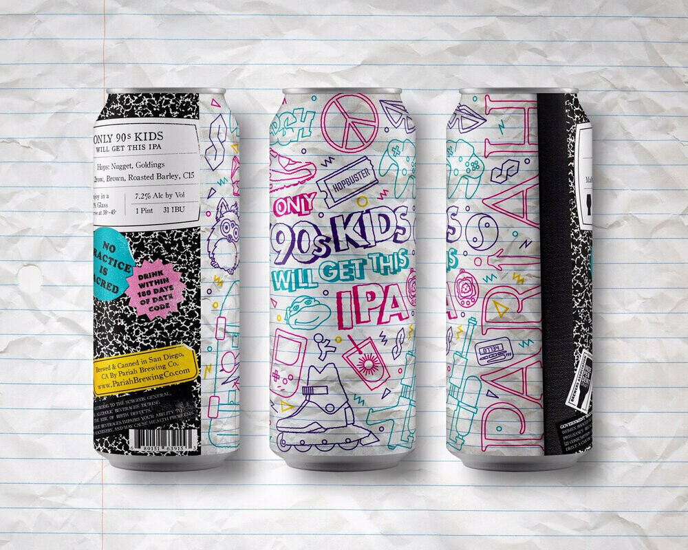 Pariah Brewing Only 90s Kids Will Get This Double IPA (4 PACK)