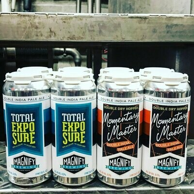 Magnify Brewing Momentary Master DIPA (4-PACK)