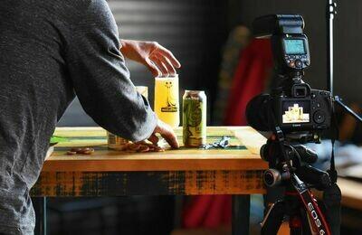 Oozlefinch Beers & Blending Das Yummy Lemon Meringue Berliner (4-PACK)