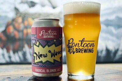 Pontoon Brewing New Wave Fruited Blonde Ale (4-PACK)
