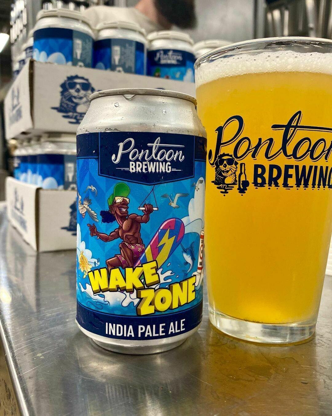 Pontoon Brewing Wake Zone IPA (4-PACK)