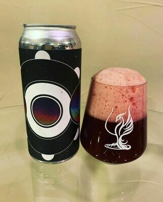Barreled Souls Currantly Blacked Out Gose with Blackberries and Currant (4-PACK)