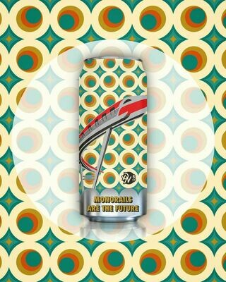Double Nickel Brewing Monorails are Future Hazy IPA (4-PACK)