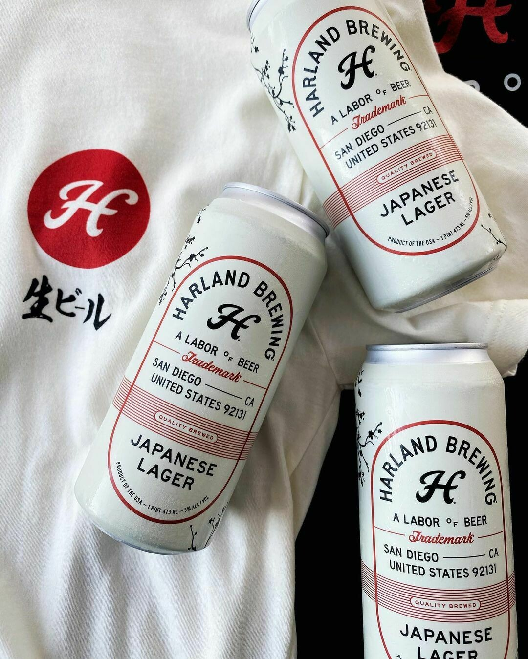 Harland Japanese Lager (4-PACK)