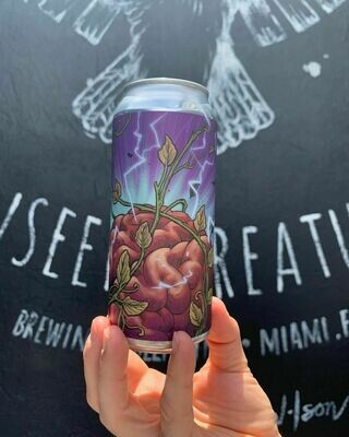 Unseen Creatures Brewing & Blending The Thoughts Connect New England IPA (4-PACK)