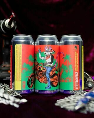 Tripping Animals Brewing Lestercheese DIPA (4-PACK)