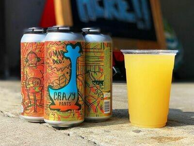 Oozlefinch Beers & Blending Crazy Pants Pineapple Basil Berliner (4-PACK)
