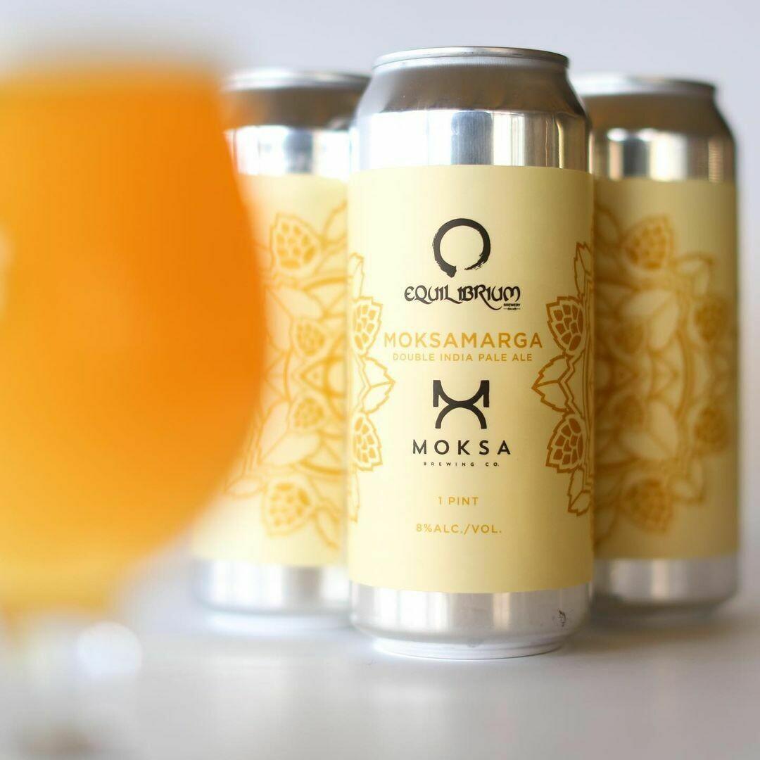 Equilibrium Brewery Moksamarga DIPA (4 PACK)