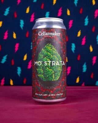 Cellarmaker Brewing Mo'Strata IPA (4 PACK)