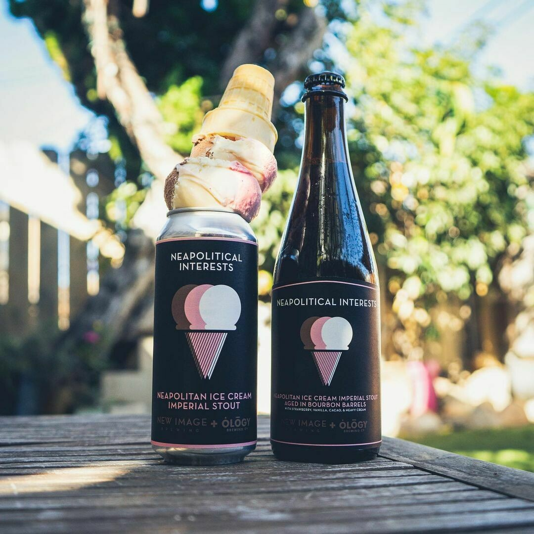 New Image Brewing Neapolitical Interests Imp Stout (4-PACK)