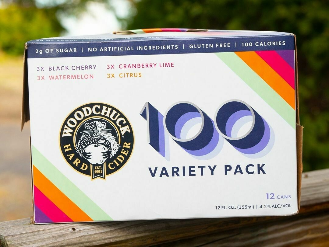 Woodchuck 100 Lo Cal Variety Pack (4-PACK)